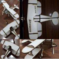 Çift Kanatlı Maket Uçak 3D PUZZLE